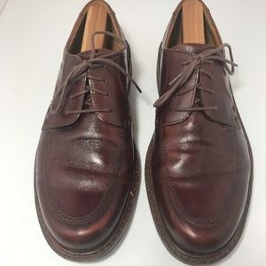 Men's ECCO Dress Shoes EU Size 43 Brown EXTRA WIDE